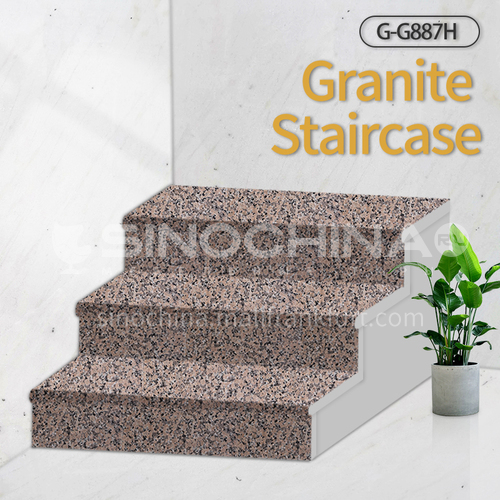 Natural granite stairs, non-slip stepping stone G-G887H