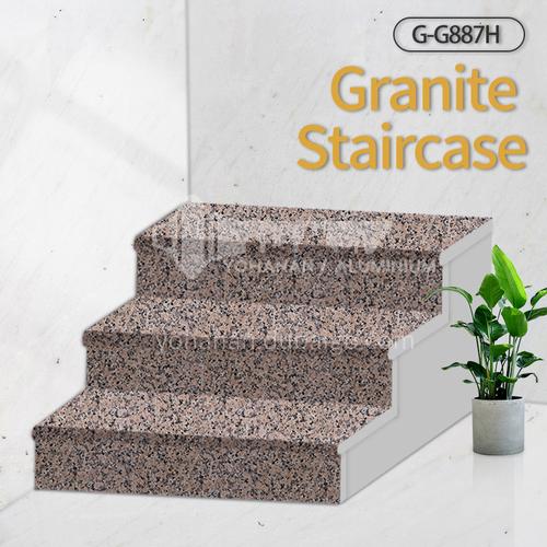 Natural granite stairs, non-slip stepping stone G-G887H