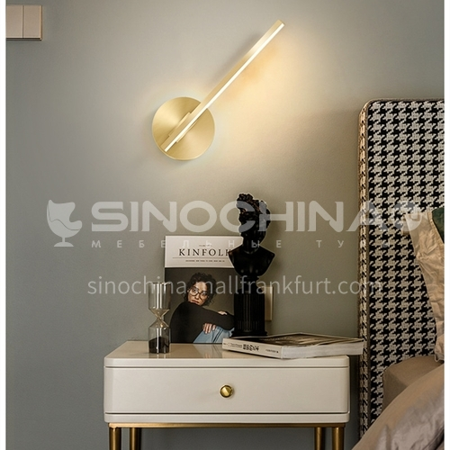 Modern living room wall lamp simple bedroom bedside wall lamp AML-115