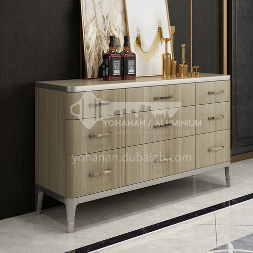 BJ-M102 Light Luxury American Storage Cabinet Simple Storage Cabinet Living Room Entrance Cabinet