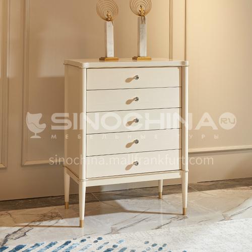 BJ-M102 American light luxury storage cabinet living room storage cabinet