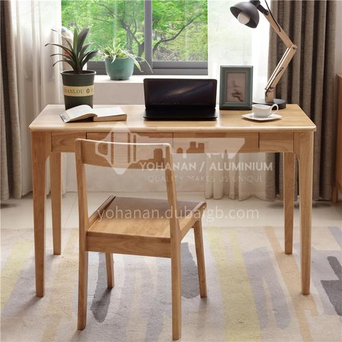 XDD-2508 Bedroom Nordic Simple Modern Log + Walnut Desk