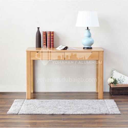 XDD-8009 Bedroom Nordic Simple Modern Log + Walnut Desk