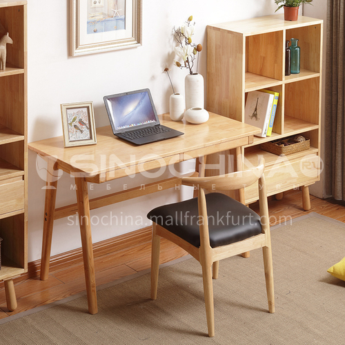 XDD-8088 bedroom Nordic simple modern American log + walnut desk, computer desk, home desk