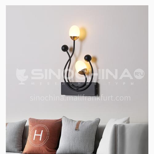 Bedside wall lamp modern minimalist creative living room wall lamp aisle corridor bedroom decorative wall lamp JMOP-7002