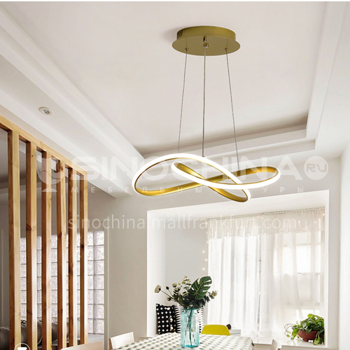 Dining room modern minimalist atmosphere creative living room chandelier bedroom home Nordic lamps JMOP-90103