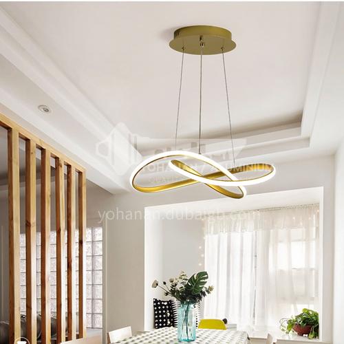 Dining room modern minimalist atmosphere creative living room chandelier bedroom home Nordic lamps JMOP-90103