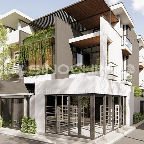 Exterior Design - Exterior of Forest Villa ESM1074