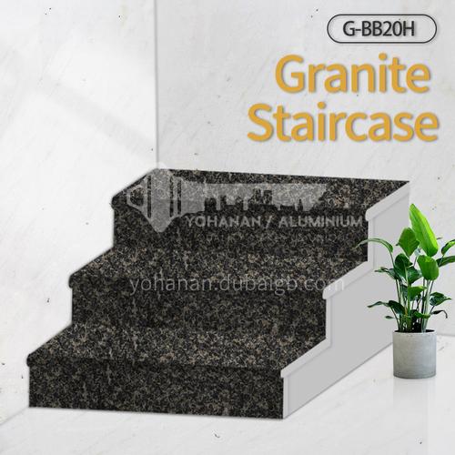 Natural granite stairs, non-slip stepping stone G-BB20H