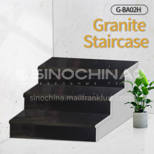 Natural granite stairs, non-slip stepping stone G-BA02H
