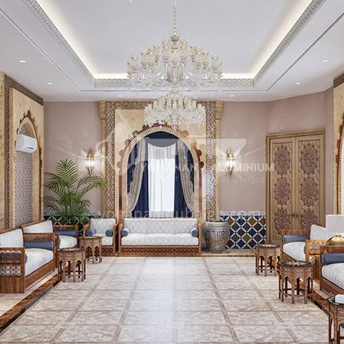 Arab villa interior design VAS1020