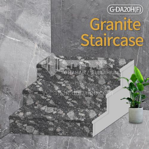 Natural granite stairs, non-slip stepping stone G-DA20H(F)