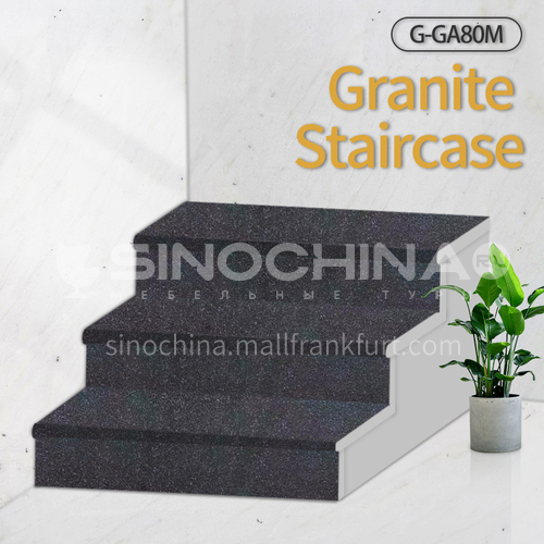 Natural granite stairs, non-slip stepping stone G-GA80M