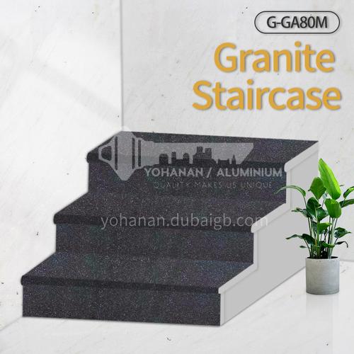 Natural granite stairs, non-slip stepping stone G-GA80M