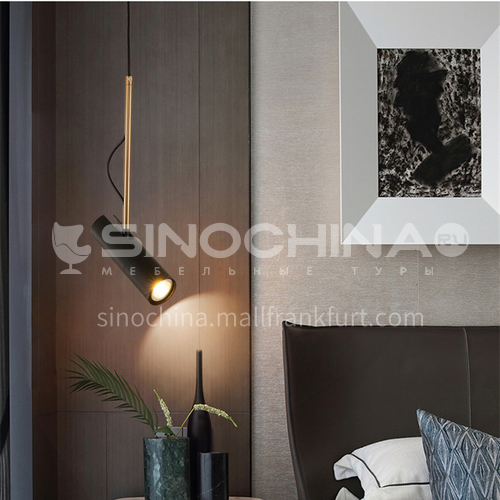 Bedside spotlight light luxury modern minimalist Nordic lamps bedroom bar dining room chandelier-MDZG-YGP222