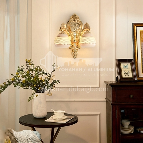 European style wall lamp bedside bedroom lamp living room dining room aisle staircase wall lamp HB-LF1003