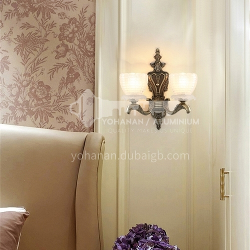 European style wall lamp bedside bedroom lamp living room dining hall aisle wall lamp HB-LF1005