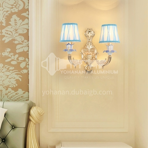 European style wall lamp bedside bedroom lamp living room dining room aisle staircase wall lamp HB-LF1006