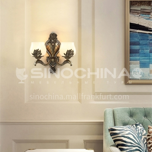 European style wall lamp bedside bedroom lamp living room hallway staircase wall lamp HB-LF1007