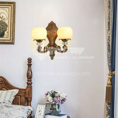 European style wall lamp bedside bedroom lamp living room dining room aisle staircase wall lamp HB-LF1008