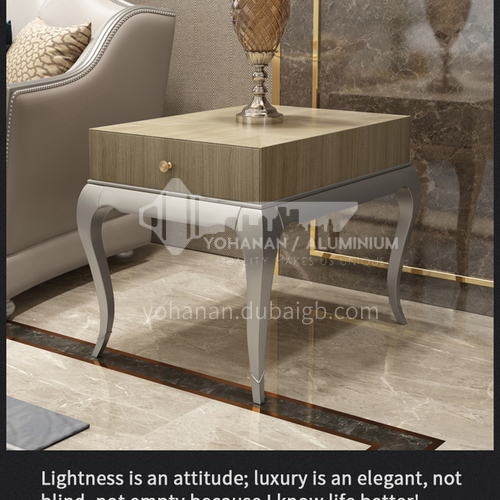 BJ-M111-Modern simple solid wood sand side table for living room