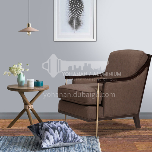 BJ-M105-High-end Nordic Italian leisure chair for living room and bedroom