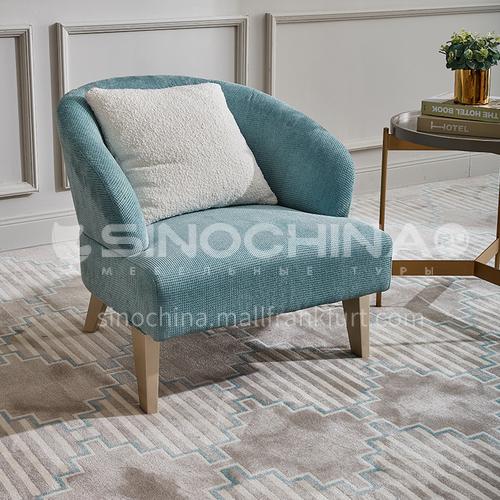 BJ-M801.802.805-Living room bedroom high-end Nordic Italian leisure chair
