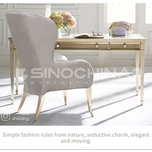 BJ-M802desk M801chair home office desk, Germany imported red beech desk high-end classic design