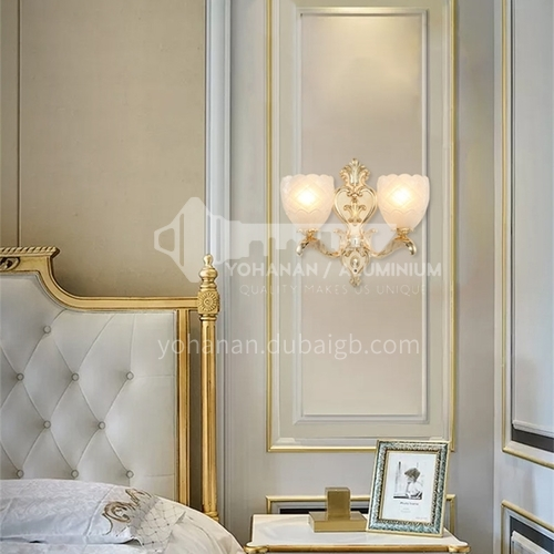 European style wall lamp bedside bedroom lamp living room dining room aisle staircase wall lamp HB-LF1009