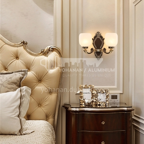 European style wall lamp bedside bedroom lamp living room dining room aisle staircase wall lamp HB-LF1010