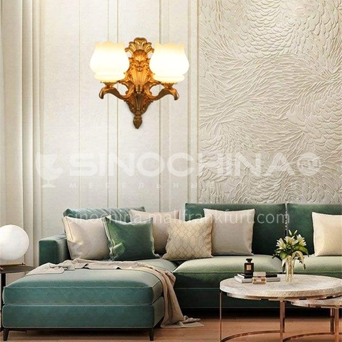 European style wall lamp bedside bedroom lamp living room dining room aisle staircase wall lamp HB-LF1011