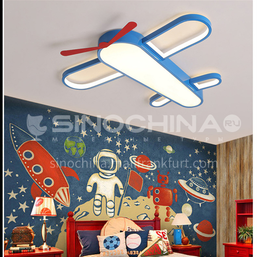 Aircraft light Nordic personality ceiling light simple modern led creative cartoon boy bedroom light-DDBE-1406