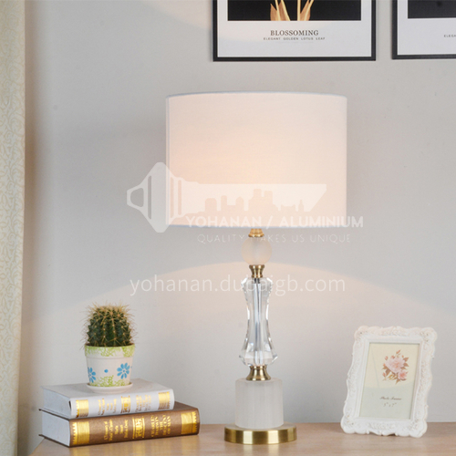 American bedroom bedside table lamp crystal simple modern warm Nordic table lamp XYJJ-XY0690TL