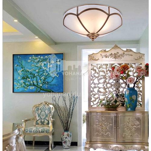 American led ceiling lamp bedroom lamp European style restaurant corridor balcony lamp PLM-084