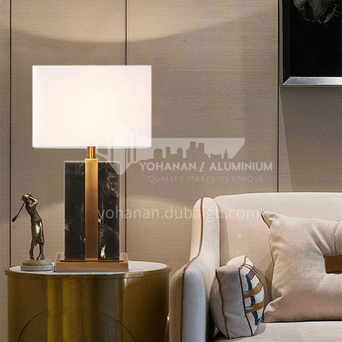 American living room table lamp modern minimalist personality bedroom bedside counter lamp-PLM-KT811