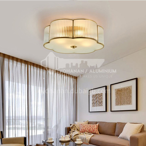 American led metal ceiling lamp living room ceiling lamp bedroom ceiling lamp European style dining room lamp PLM-N159