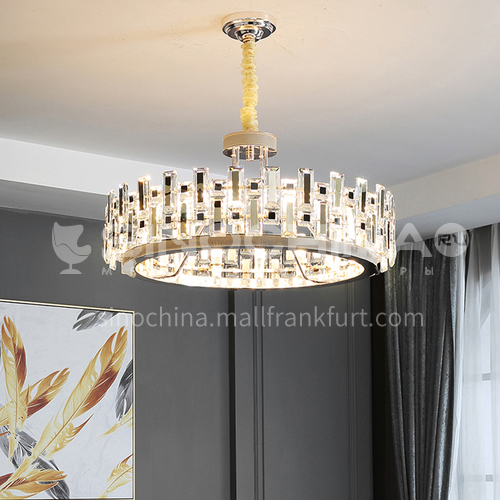 Crystal living room nordic bedroom chandelier modern minimalist atmosphere dining room crystal lamp-TB6825