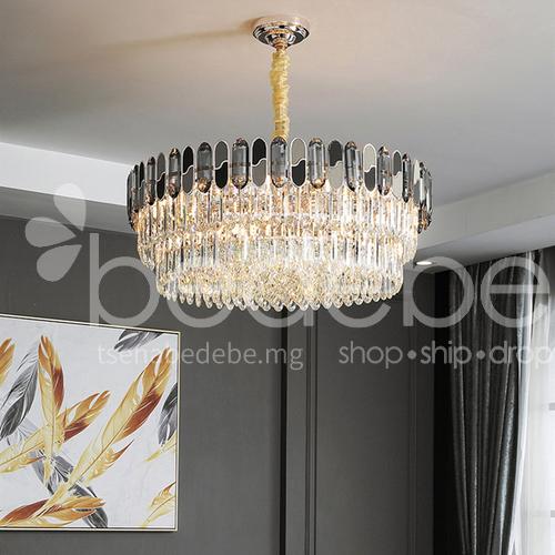 Light Luxury Crystal Chandelier Modern, Crystal Chandelier Bedroom Lighting
