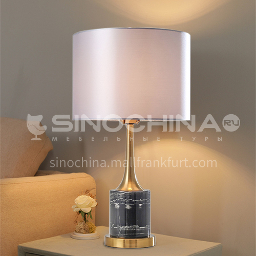 American table lamp bedroom bedside lamp simple modern Nordic table lamp-PLM-KT815