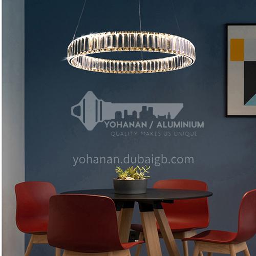 Light luxury chandelier modern minimalist crystal lamp living room atmosphere dining room lighting-TB-6865