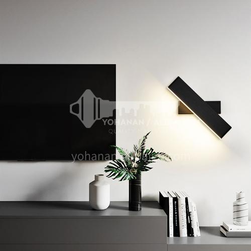 Modern minimalist LED wall lamp creative acrylic long wall lamp staircase aisle bedroom bedside wall lamp KRS-W9013