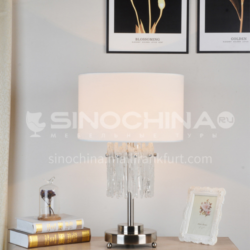 Warm bedroom bedside lamp modern minimalist luxury crystal table lamp Nordic light luxury home living room XYJJ-XY0710TL