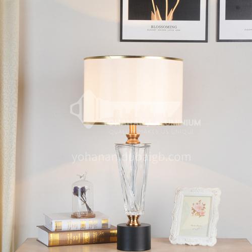 Modern minimalist crystal table lamp Nordic creative bedroom study decoration table lamp XYJJ-XY0755TL