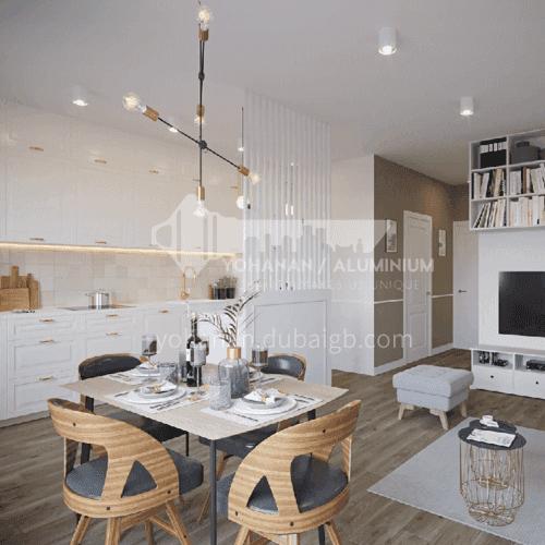 European style classical high density board blister style kitchen-GK-715