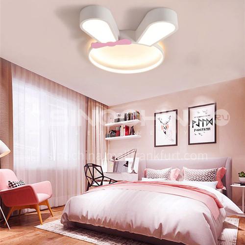 Cartoon lamp simple modern bedroom lamp personality creative rabbit led ceiling lamp-DDBE-P-1578