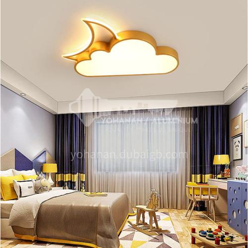 Cartoon bedroom lamp boy and girl room lamp warm and romantic cloud simple kindergarten lamp-DDBE-P-1586