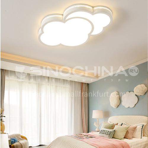 Cartoon ceiling lamp creative bedroom simple modern cloud room light-DDBE-P-1587