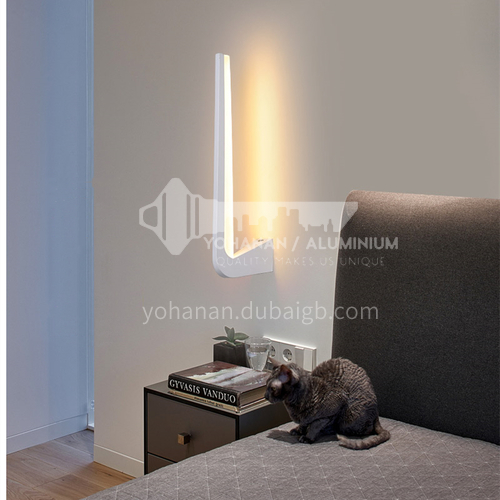 Bedside wall lamp simple modern creative personality LED wall lamp bedroom living room wall lamp-FLY-LY8012