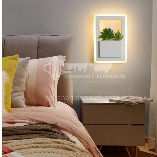 Modern minimalist creative wall lamp bedside warm wall lamp living room bedroom decorative lighting-FLY-LY8003