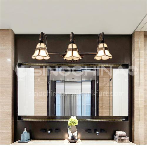 European-style minimalist bathroom and toilet mirror front light American modern minimalist mirror cabinet led vanity light-XJ-87039